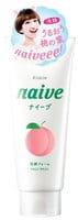 """KRACIE """"Naive"""" Пенка для снятия макияжа с экстрактом персика, с фруктово-цветочным ароматом, 130 г."""