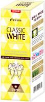 """Mukunghwa """"Classic White"""" Отбеливающая зубная паста двойного действия, с микрогранулами, аромат мяты и ментола, 110 гр."""