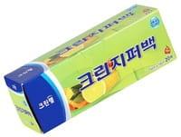 Cleanwrap Плотные полиэтиленовые пакеты на молнии, 15х10 см, 20 шт.