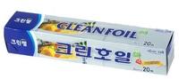 Cleanwrap Алюминиевая фольга с отрывным краем-зубцами, 25 см х 20 м.