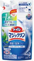 "KAO Спрей-пенка для туалета ""Toilet Magiclean"" с мятным ароматом, сменная упаковка, 300 мл."