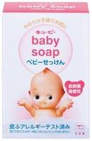 """COW 369015 COW Детское мыло для чувствительной кожи с натуральными сливками и скваланом """"Kewpie"""" (кусок 90 гр) 1шт/144"""