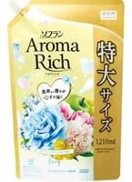 """LION """"Soflan Aroma Rich Fairy"""" Кондиционер для белья с богатым ароматом натуральных масел, сменная упаковка, 1210 мл."""