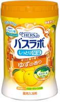 """Hakugen """"Hers Bath Labo"""" Увлажняющая соль для ванны с восстанавливающим эффектом, с гиалуроновой кислотой, с ароматом юдзу, 680 г."""