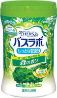 """Hakugen """"Hers Bath Labo"""" Увлажняющая соль для ванны с восстанавливающим эффектом, с гиалуроновой кислотой, с ароматом леса, 680 г."""