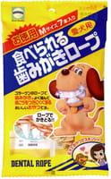 EARTH BIOCHEMICAL Средство для чистки зубов и удаления запаха из пасти для собак средних пород, с коллагеном, 7 шт.