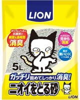 LION Наполнитель бентонитовый для кошачьего туалета, 5 л.