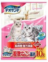 Unicharm Дезодорирующий бумажный наполнитель для кошачьего туалета, 10 л.