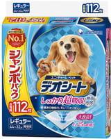 Unicharm Пелёнки для животных, 44х32 см, без запаха, 112 шт.