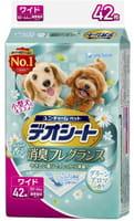 Unicharm Подстилки (пелёнки) для собак, 44х60 см, дезодорирующие, с ароматом зелени, 42 шт.