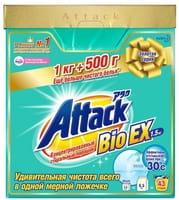 KAO «Attack BioEX» Концентрированный стиральный порошок, 1,5 кг.