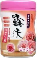 Fudo Kagaku Соль для ванны с успокаивающим эффектом и ароматом роз, банка, 680 гр.