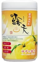 Fudo Kagaku Соль для ванны с бодрящим эффектом и ароматом юдзу, банка, 700 гр.