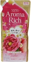 """LION oflan Aroma Rich Scarlet"""" Кондиционер для белья с богатым ароматом натуральных масел, сменная упаковка, 430 мл."""