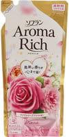 """LION """"Soflan Aroma Rich Diana"""" Кондиционер для белья с богатым ароматом натуральных масел, сменная упаковка, 430 мл."""