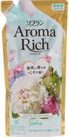 """LION LION """"Soflan Aroma Rich Sofia"""" Кондиционер для белья с богатым ароматом натуральных масел, сменная упаковка, 430 мл."""