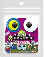 «Clip Monster» Детские клипсы для защиты от насекомых «Точки», 2 шт.