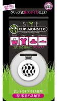«Clip Monster Style» Детская клипса для защиты от насекомых, чёрная, 1 шт.