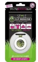 «Clip Monster Style» Детская клипса для защиты от насекомых, хаки, 1 шт.