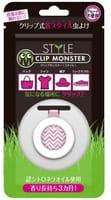 «Clip Monster Style» Детская клипса для защиты от насекомых, розовая, 1 шт.