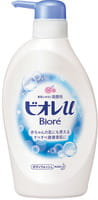 """KAO """"Biore U"""" Мягкое пенное мыло для всей семьи, цветочный аромат, 480 мл."""