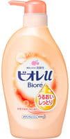 """KAO """"Biore U"""" Мягкое пенное мыло для всей семьи, с увлажняющим эффектом, фруктово-цветочный аромат, 480 мл."""