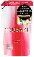 SHISEIDO «Tsubaki» Увлажняющий кондиционер для волос, с маслом семян камелии и маточным молочком, запасной блок, 330 мл.
