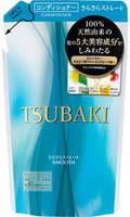 SHISEIDO «Tsubaki» Разглаживающий кондиционер для волос, с маслом семян камелии и маточным молочком, запасной блок, 330 мл.