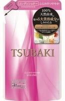 SHISEIDO «Tsubaki» Кондиционер для придания объёма волосам, с маслом семян камелии и маточным молочком, запасной блок, 330 мл.