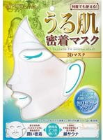 SUN SMILE «Pure Smile» Трёхмерная увлажняющая многоразовая силиконовая маска, белая, 1 шт.
