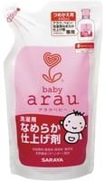 """Saraya """"Arau Baby"""" Кондиционер для стирки детской одежды и белья, запасной блок, 440 мл."""