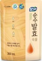 CJ LION «Chamgreen Pure Fermentation» Средство для мытья посуды «5 злаков», мягкая упаковка, 300 мл.