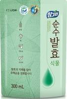 CJ LION «Chamgreen Pure Fermentation» Средство для мытья посуды «Растительные ферменты», мягкая упаковка, 300 мл.