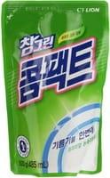CJ LION «Chamgreen» Концентрированное средство для мытья посуды, мягкая упаковка, 485 мл.