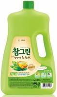 CJ LION «Chamgreen» Средство для мытья посуды с ароматом зелёного чая, 2970 мл.