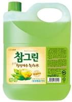 CJ LION «Chamgreen» Средство для мытья посуды с ароматом зелёного чая, 3830 мл.