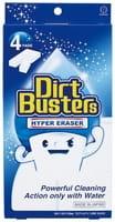 KOKUBO «Dirt Busters» Губка меламиновая для сложных загрязнений, 68х120х30 мм, 4 шт.
