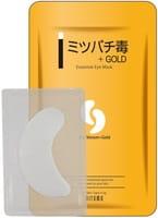 Mitomo Патчи для глаз «Пчелиный яд + золото», 1 пара.