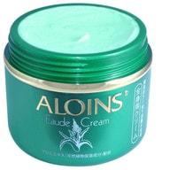 Aloins «Eaude Cream» Крем для тела с экстрактом алоэ (с лёгким ароматом трав), 185 г.
