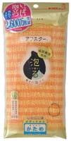"Kikulon ""Awastar Nylon Body Wash Cloth Hard"" Мочалка для тела жёсткая (оранжевая)."