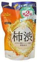 """MAX """"Taiyounosachi EX Body Soap"""" Жидкое мыло для тела с экстрактом хурмы, запасной блок, 350 мл."""