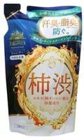 MAX «Taiyounosachi EX Shampoo» Шампунь для волос с экстрактом хурмы, запасной блок, 350 мл.