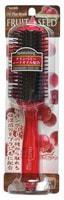 VESS «Fruit Seed Brush» Увлажняющая расчёска для волос, с маслом семян клюквы (большая).