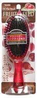 VESS «Fruit Seed Brush» Увлажняющая расчёска для волос, с маслом семян клюквы (круглая).