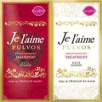 KOSE Cosmeport «Je l'aime - Fulvos» Шампунь и тритмент для всех типов волос «Сияние и увлажнение», цветочно-фруктовый аромат, 10 мл + 10 мл.