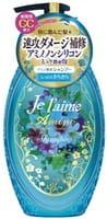 KOSE Cosmeport «Je l'aime - Amino» Шампунь с аминокислотами для повреждённых волос «Гладкость и увлажнение», фруктово-цветочный аромат, 500 мл.