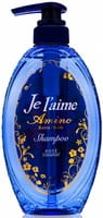 KOSE Cosmeport «Je l'aime - Amino» Шампунь с аминокислотами для повреждённых волос «Экстраувлажнение», фруктово-цветочный аромат, 500 мл.