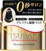 SHISEIDO «Tsubaki» Восстанавливающая маска с маслом камелии для повреждённых волос, 180 г.