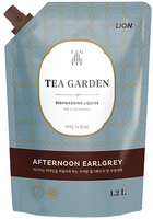 CJ LION «Chamgreen Tea Garden» Средство для мытья посуды «Бергамот», мягкая упаковка, 1250 г.