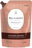CJ LION «Chamgreen Tea Garden» Средство для мытья посуды «Жасмин», мягкая упаковка, 1250 г.